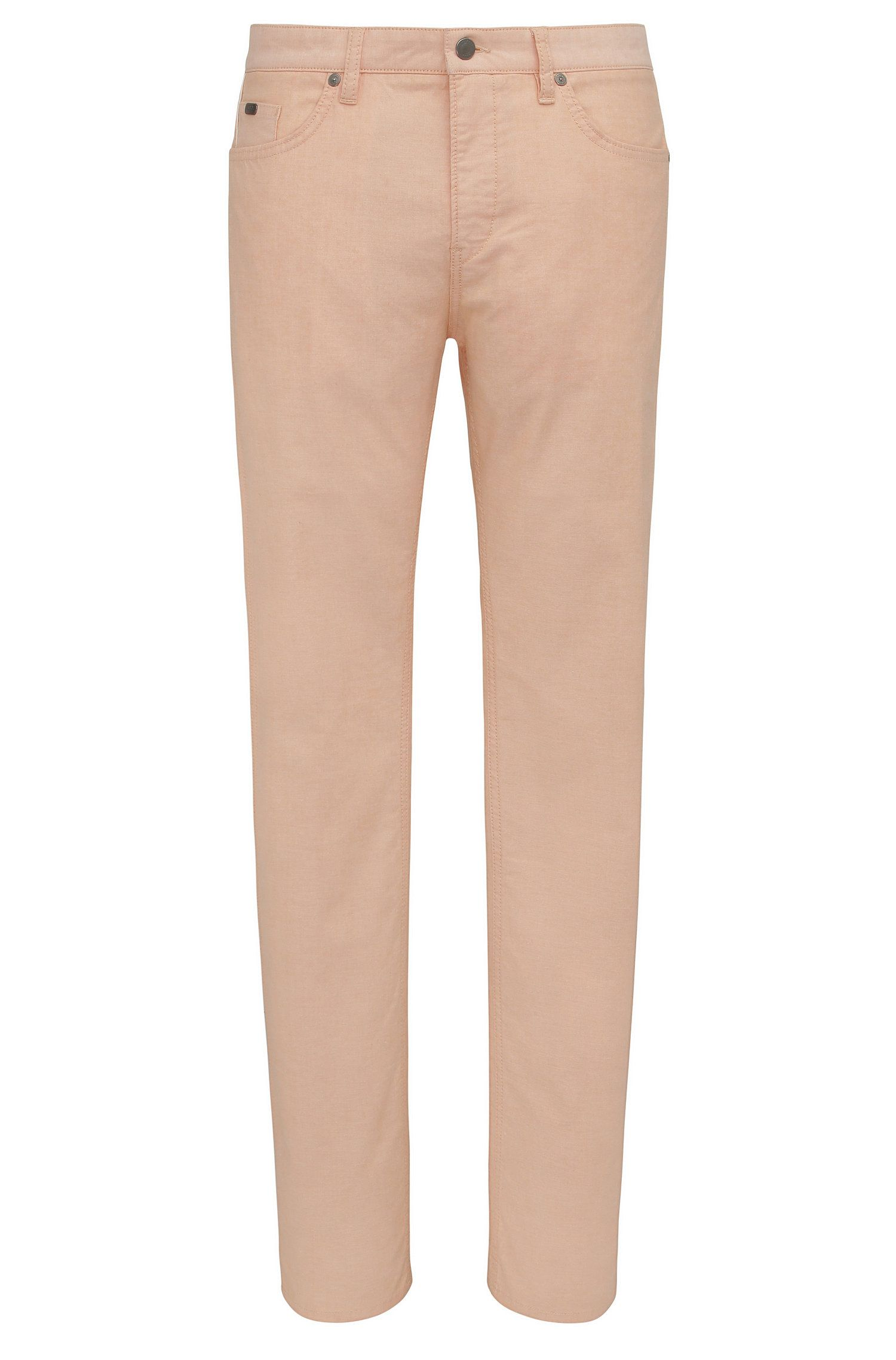 Slim-fit jeans in stretch cotton: 'C-Delaware3-20'