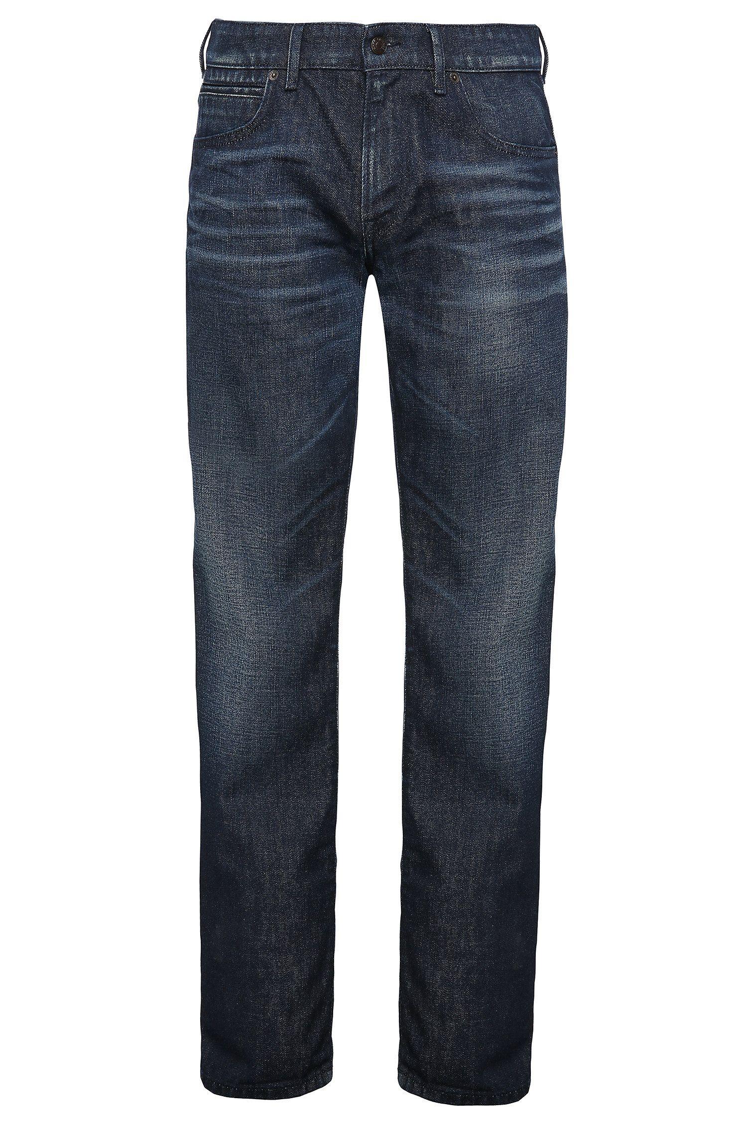 Regular-fit jeans van zuiver katoen: 'Orange24 Barcelona'