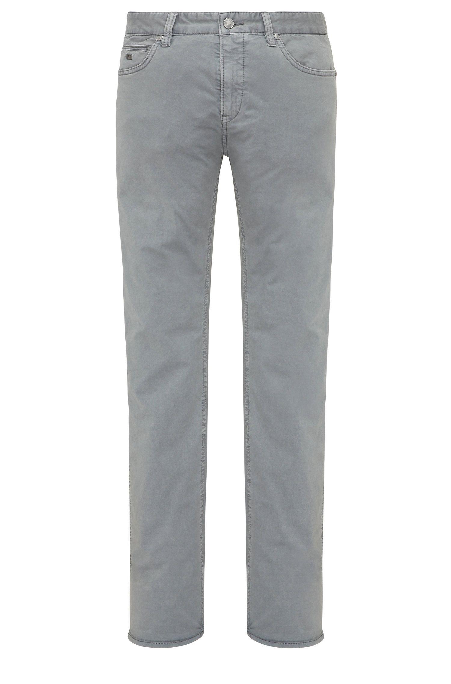 Pantalon Slim Fit en coton extensible: «C-Delaware3-3-20»