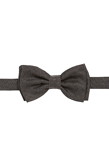 Nœud papillon en soie finition denim : « Bow tie fashion »