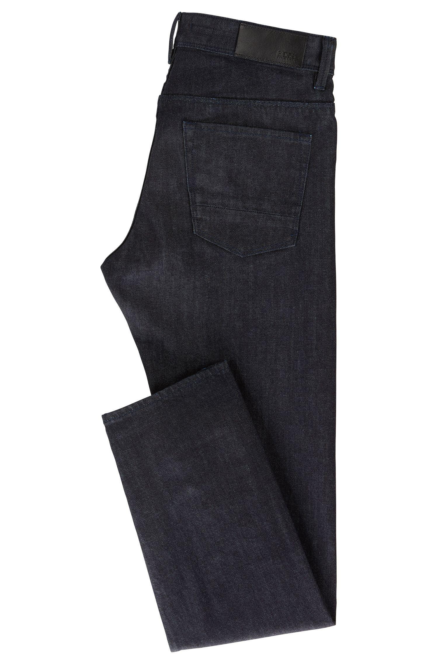 Slim-Fit Jeans aus Stretch-Baumwolle mit Selvedge-Kante: 'Delaware3-Edge1-WS'