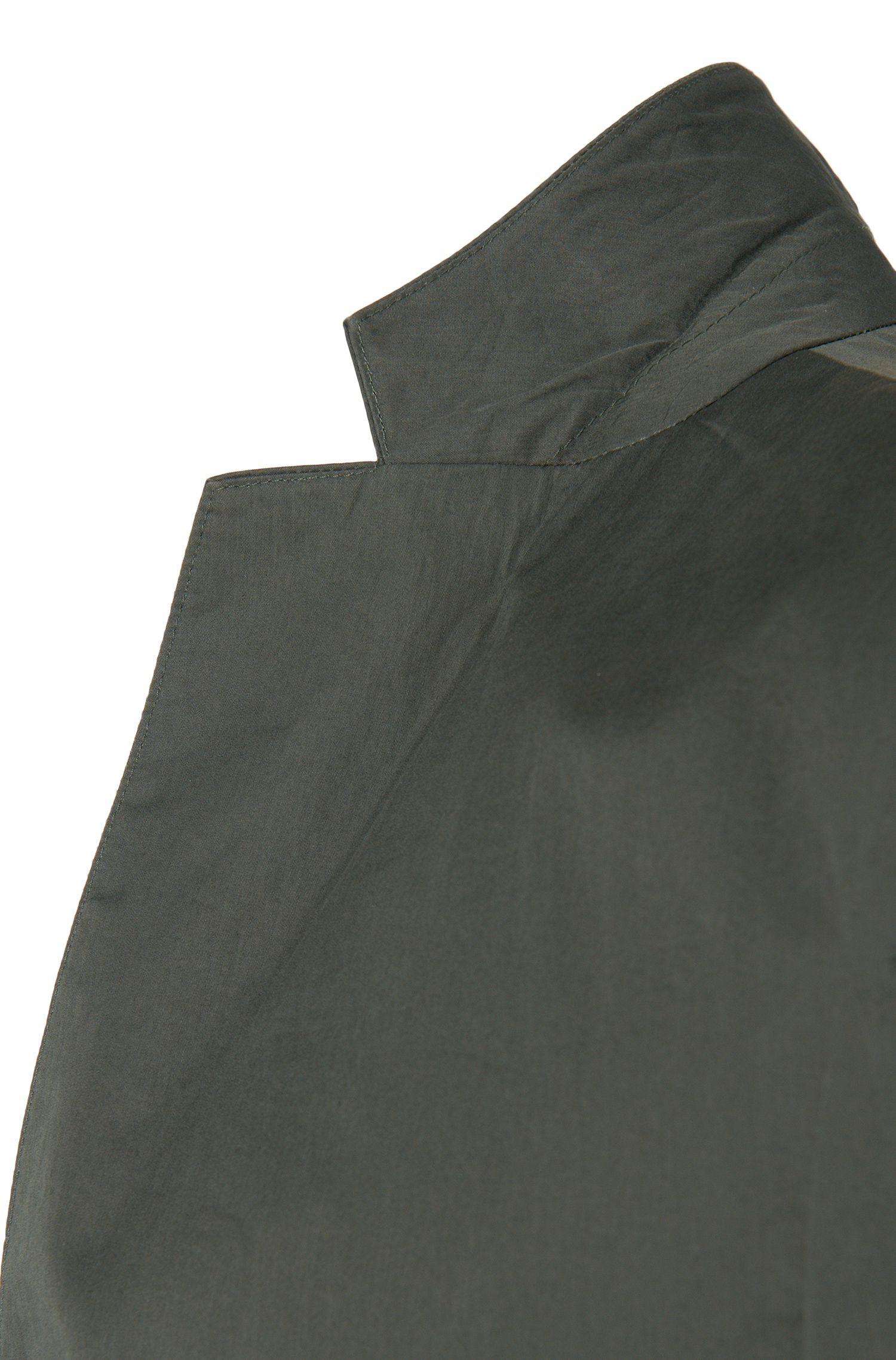 Slim-Fit Travel Line Anzug aus Baumwolle: 'Nastven/Barns-T'