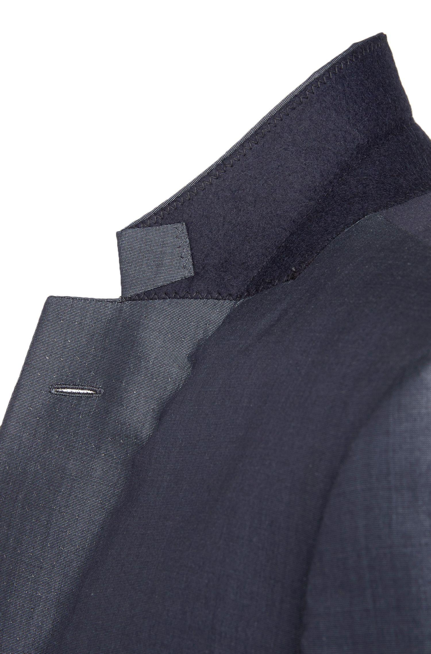 Slim-fit kostuum van zuivere zijde uit de Tailored-collectie: 'T-Harvers2/Glover1'