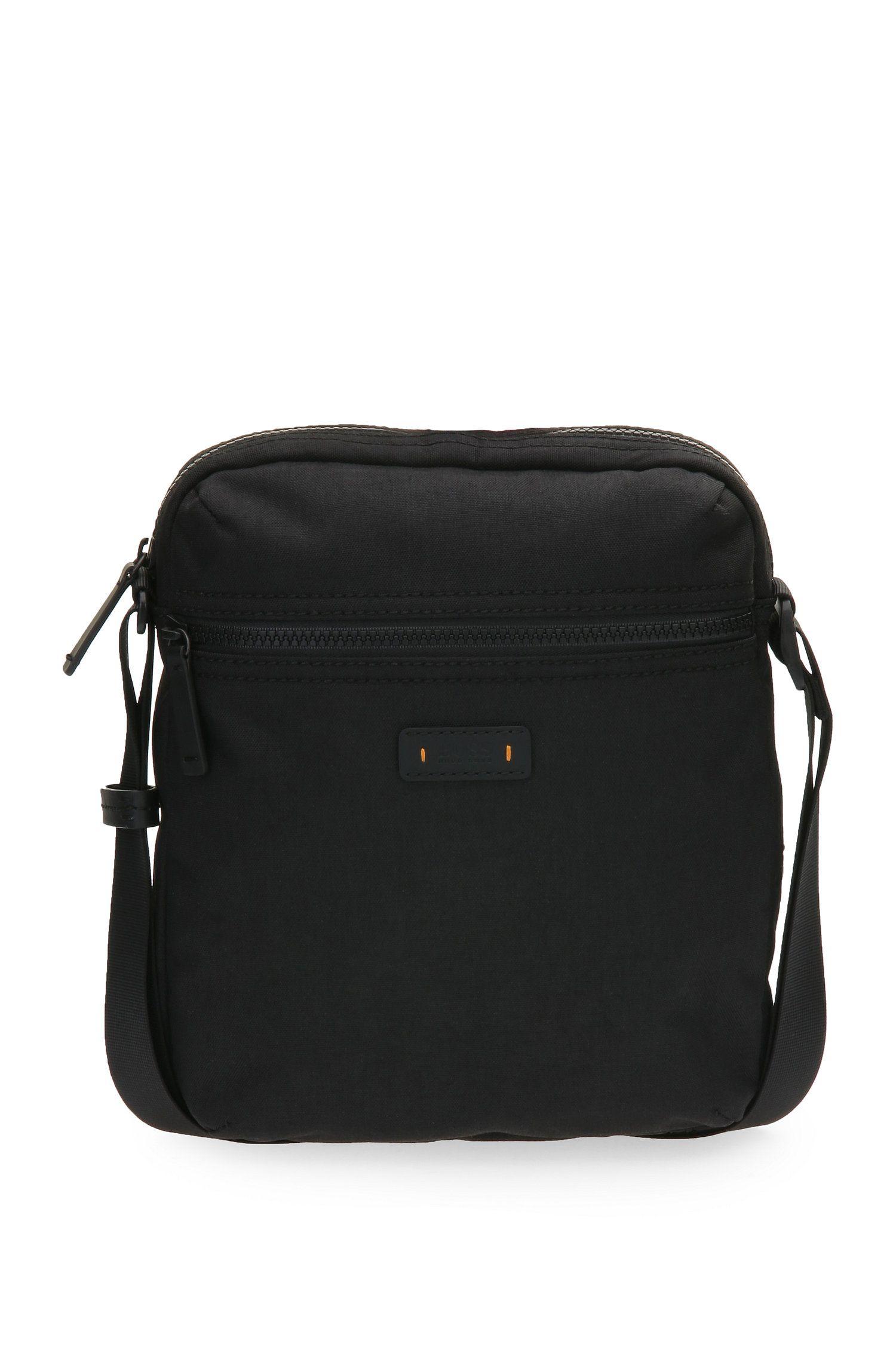 Reporter Bag aus strukturiertem Material-Mix: ´Saturn R_NS zip`