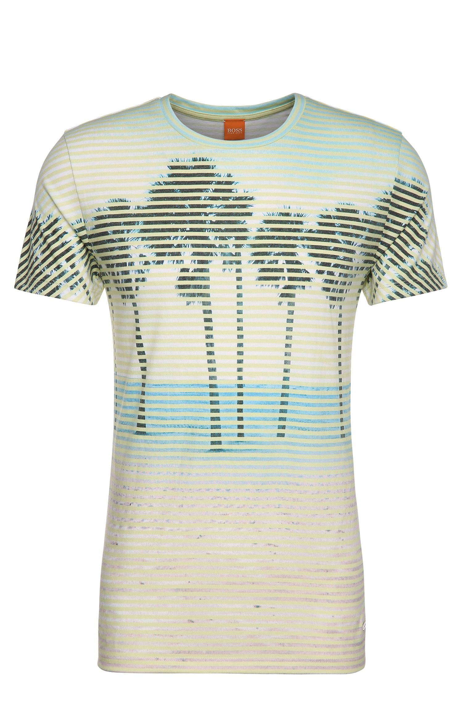 T-shirt con stampa in materiali misti e cotone: 'Telling'