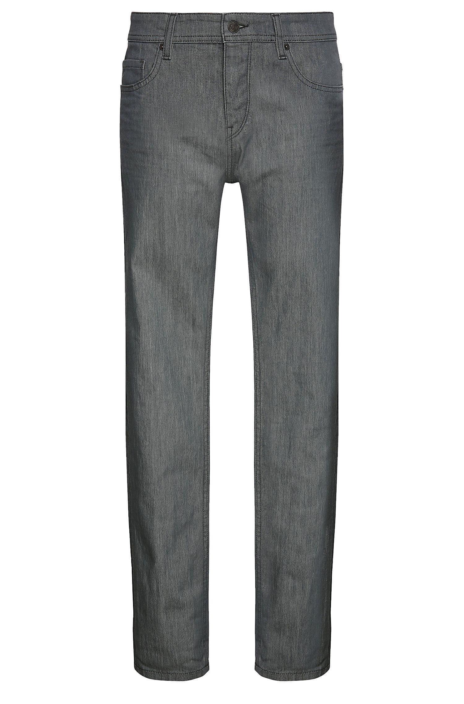 Jeans tapered fit in cotone elasticizzato: 'Orange90'