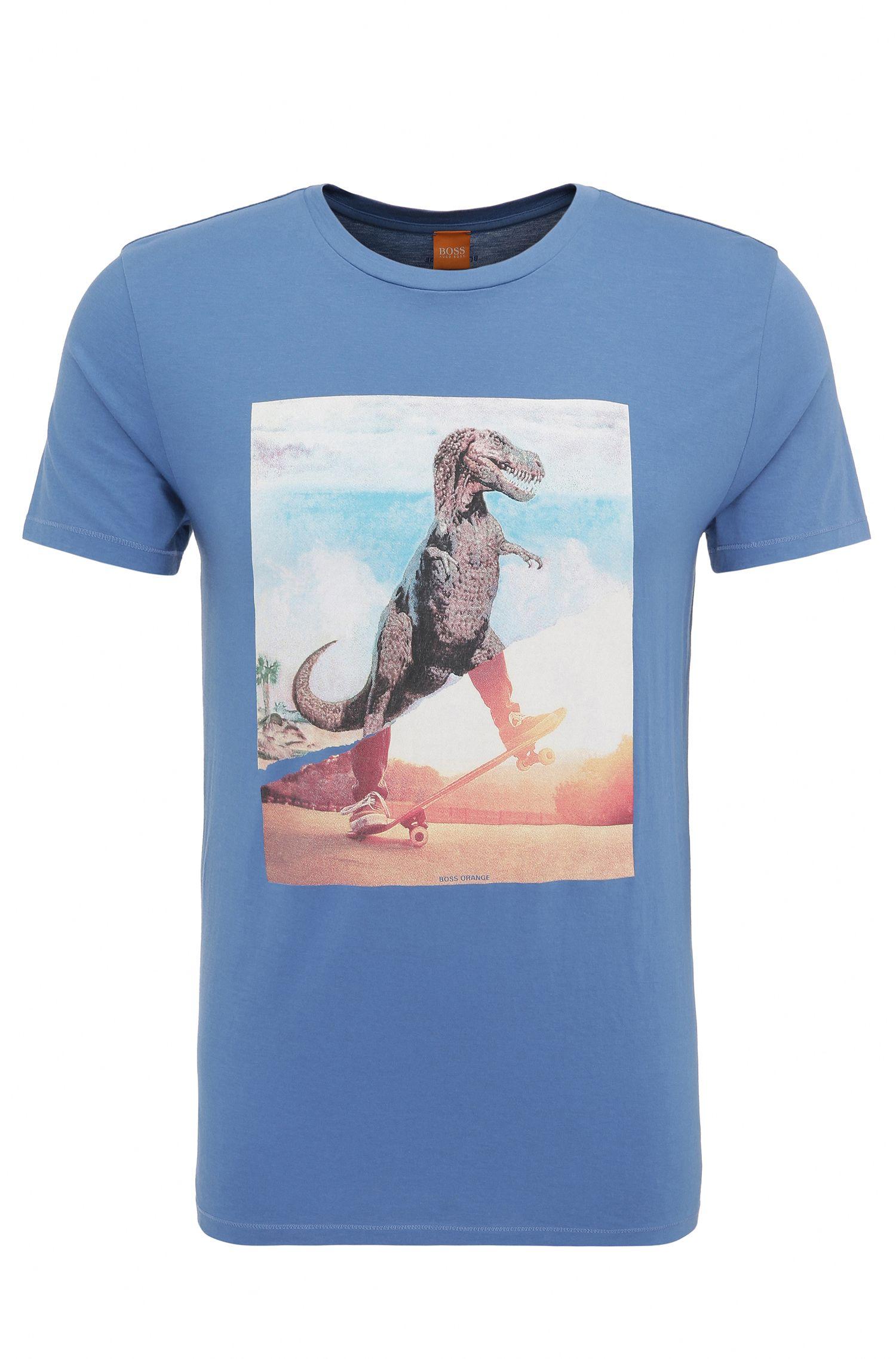 Regular-Fit Print-Shirt aus Baumwolle: ´Tintype 4`