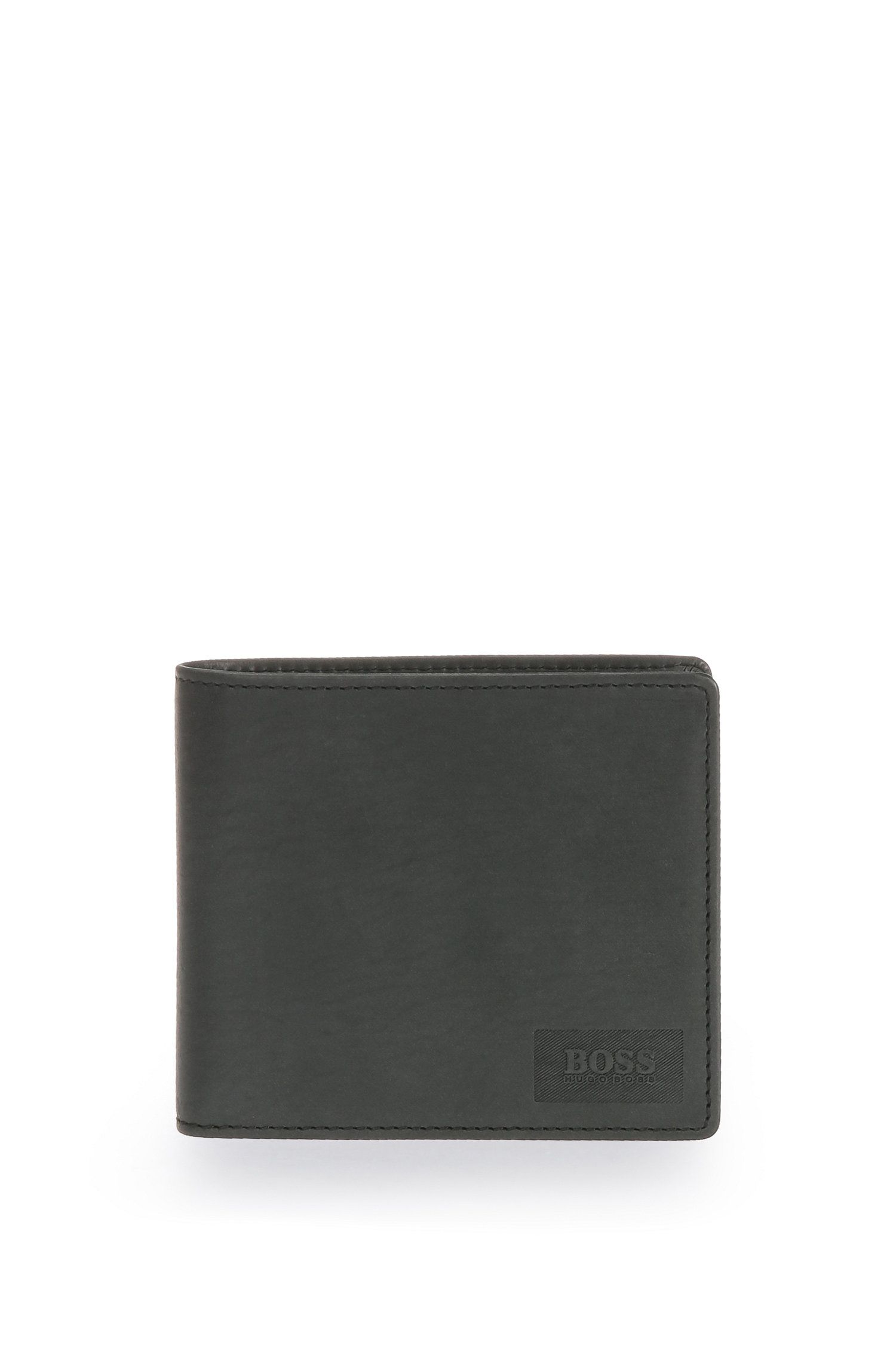 Wallet in smooth leather: 'Pulse_4 cc coin'