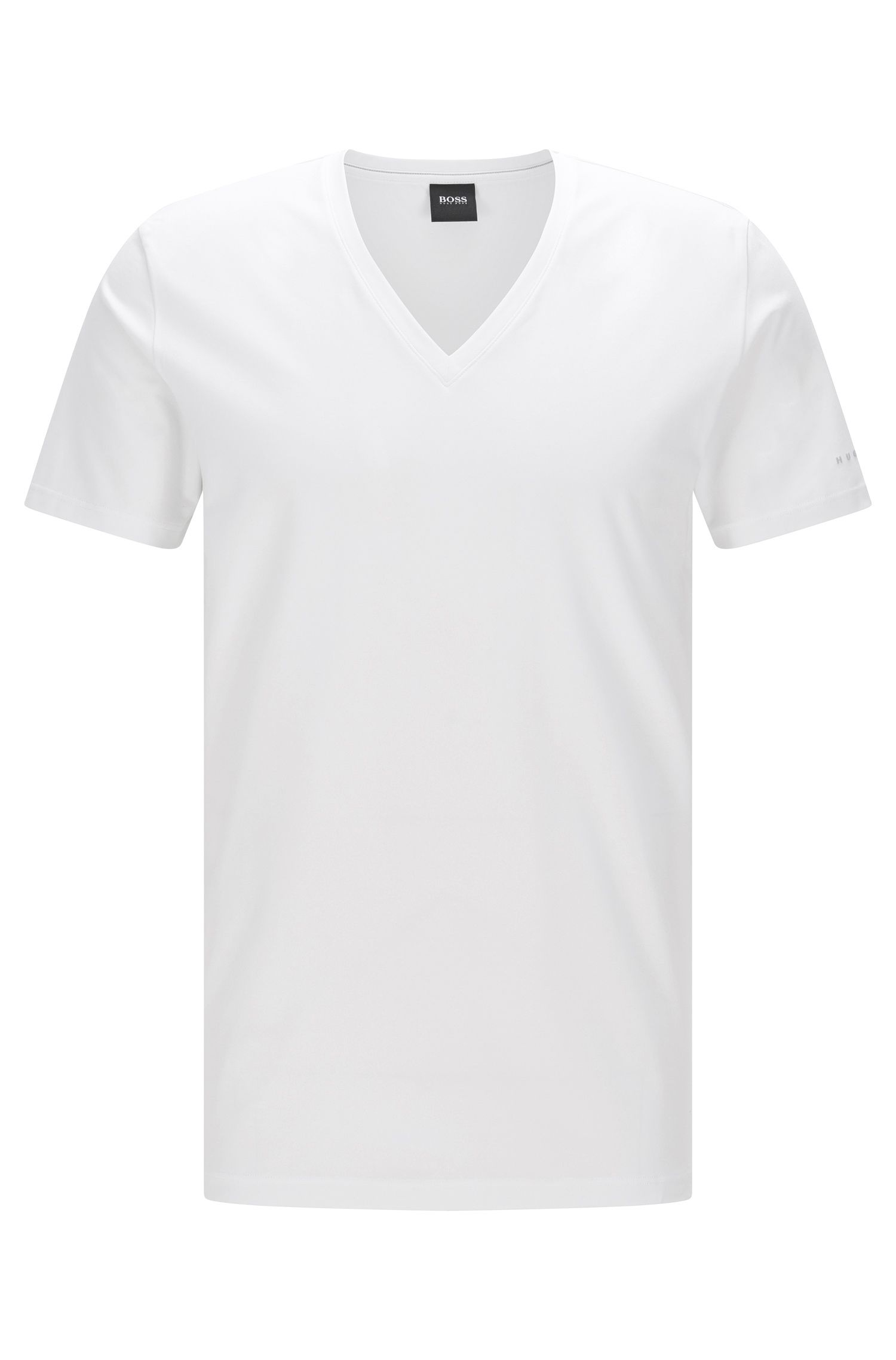Travel Line T-shirt in a stretchy, breathable cotton blend:  'T-Shirt VN Cotton+ '