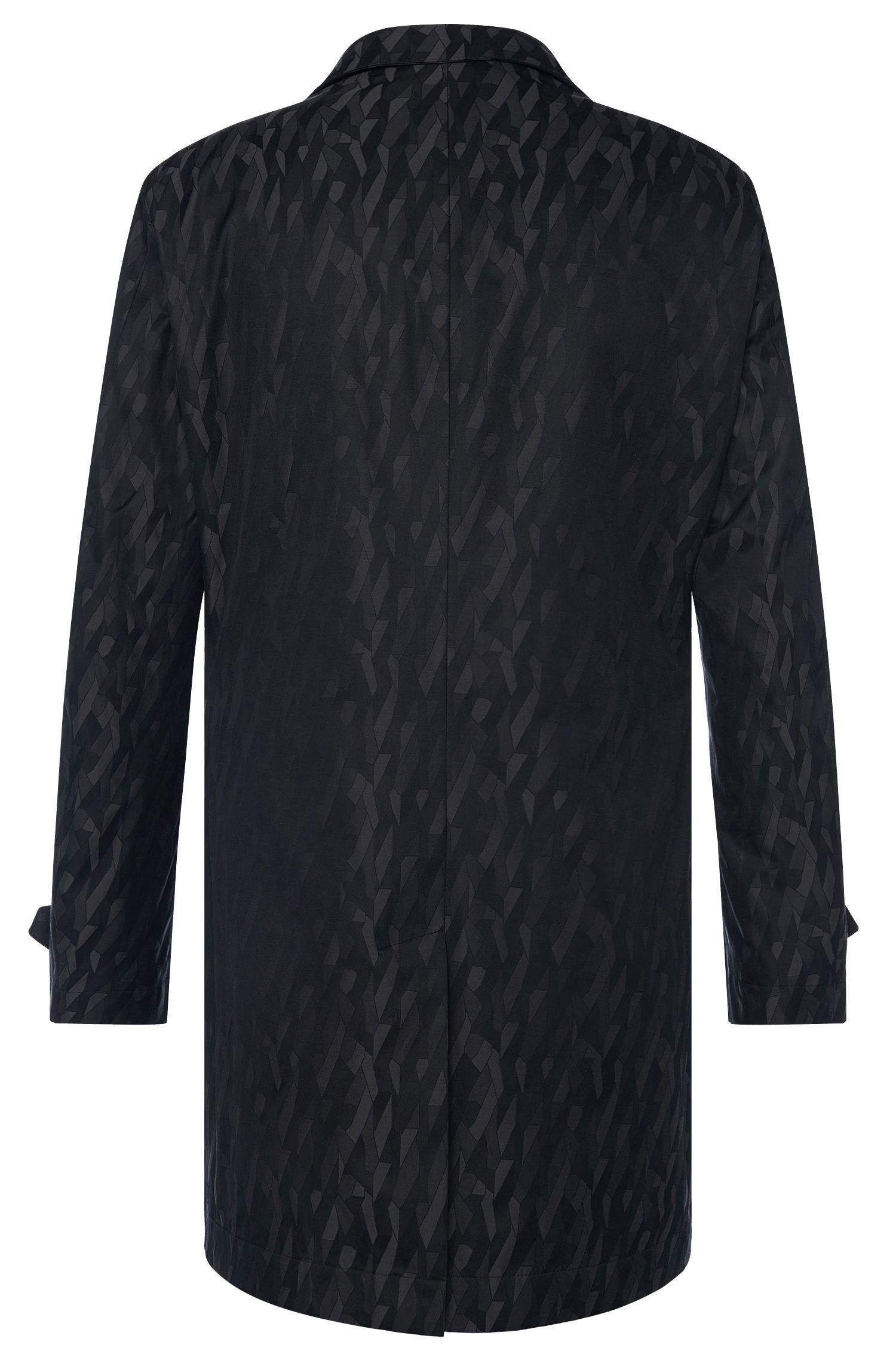 Wasserabweisender Regular-Fit Mantel aus Baumwoll-Mix: 'Garret2'