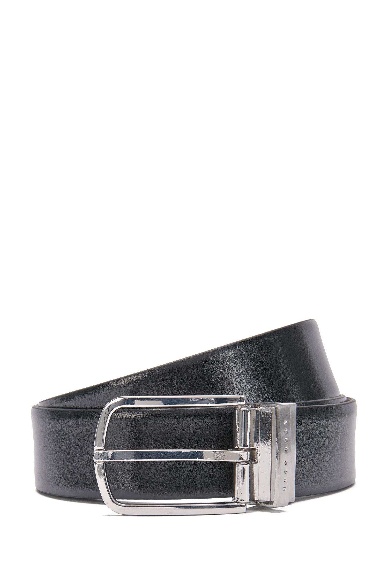 Reversible leather belt: 'Owen_Or35_pp'
