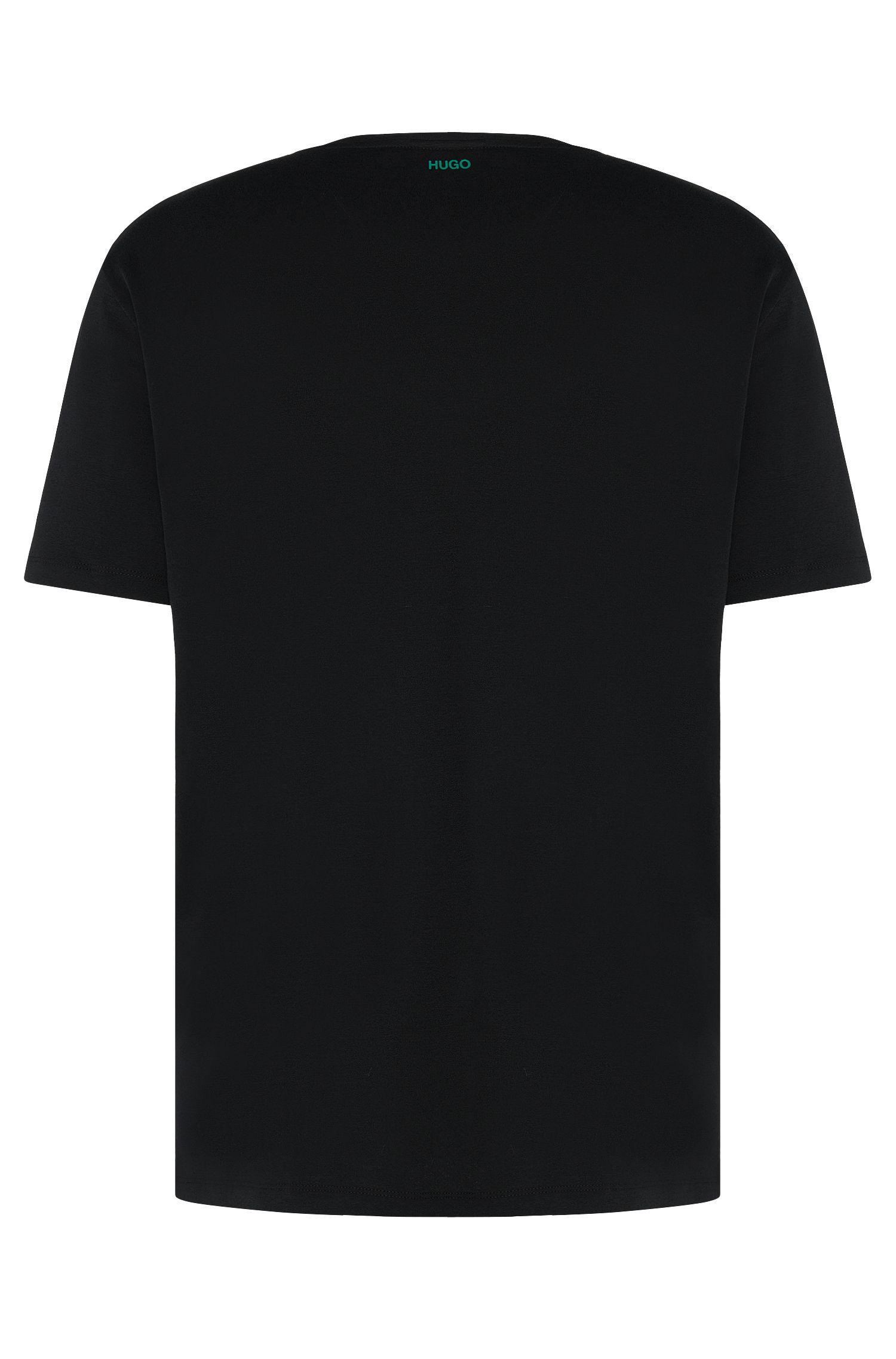 Regular-Fit T-Shirt aus Baumwolle mit Print: 'Derro'