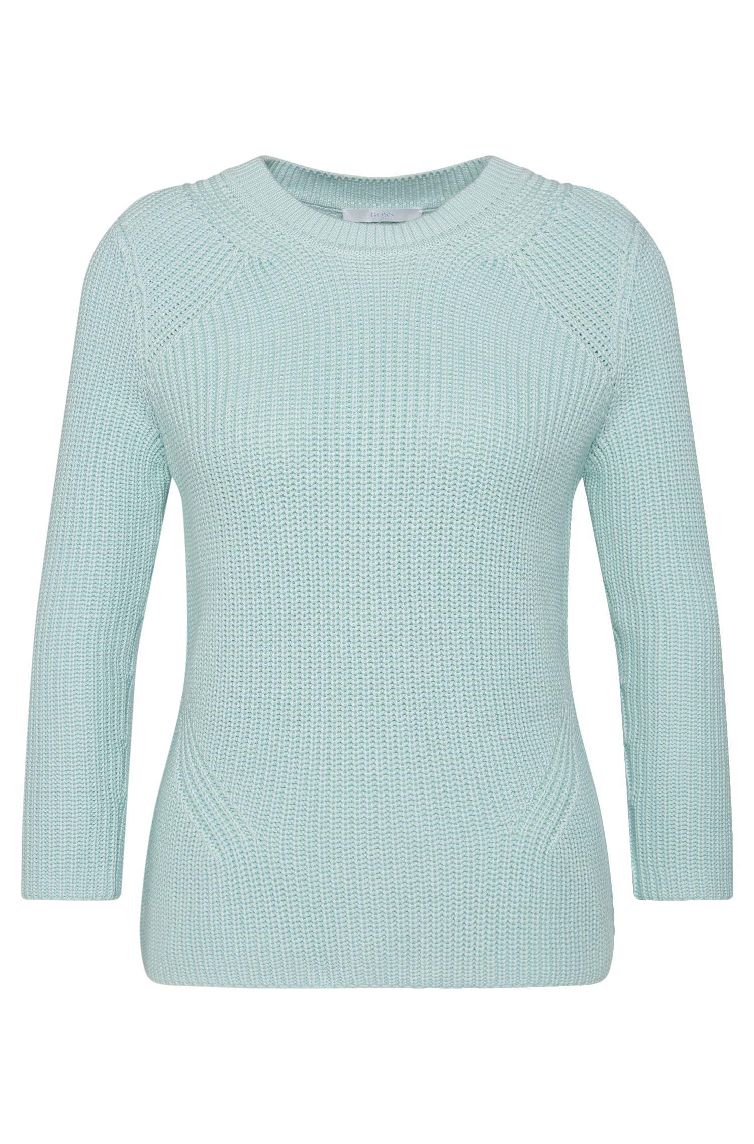 Pullover aus Baumwoll-Mix mit Seide und Kaschmir: 'Febrara'