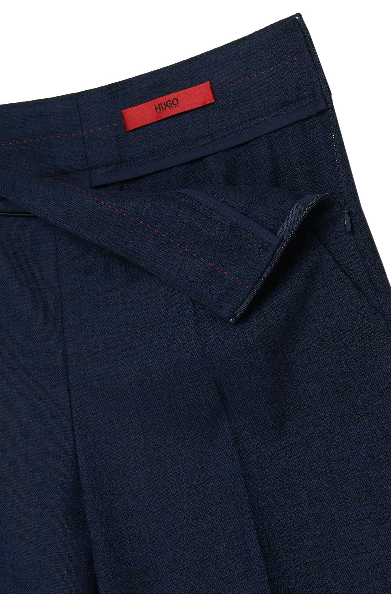 High Waisted Hose aus elastischem Baumwoll-Mix: 'Hababi'