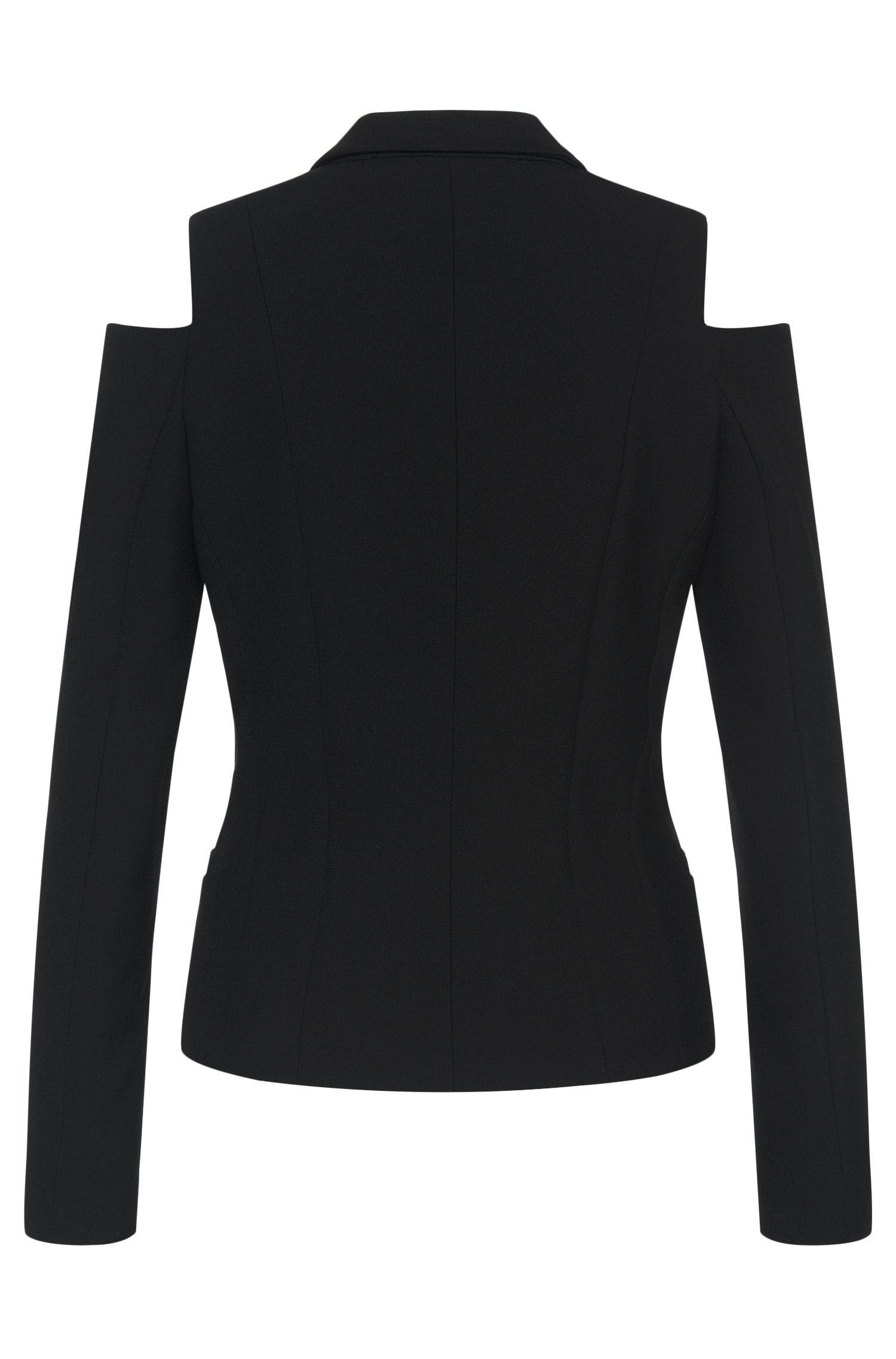 Getailleerde blazer met schouderuitsparingen: 'Ankisa'