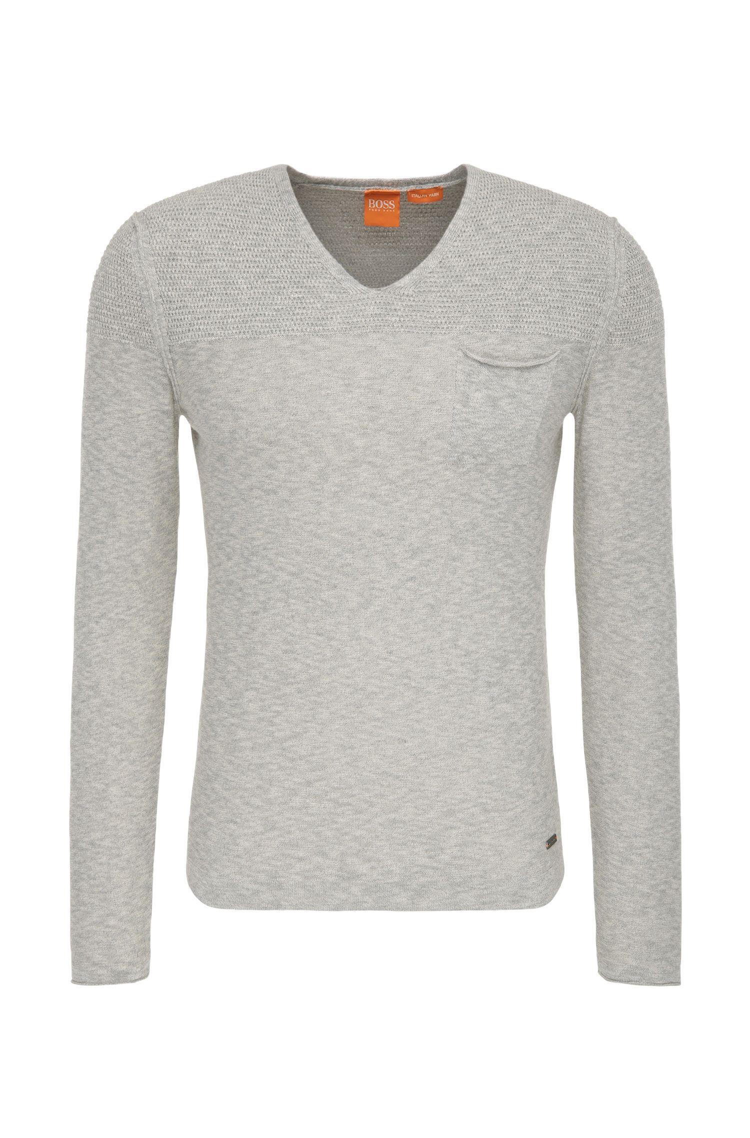 Strick-Pullover aus Baumwoll-Mix mit Viskose: ´Abramut`