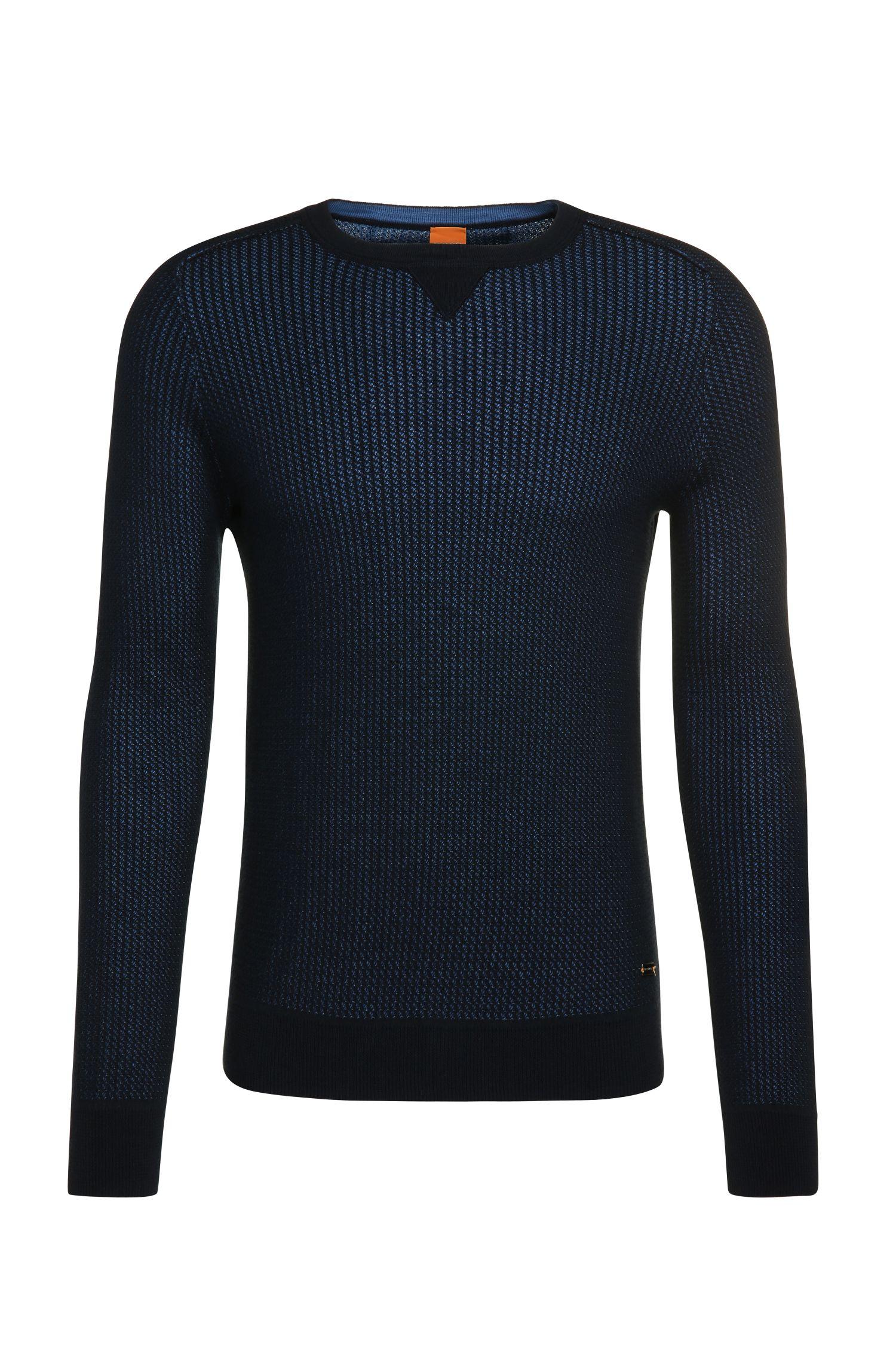 Knitwear sweater in cotton: 'Kawanan'