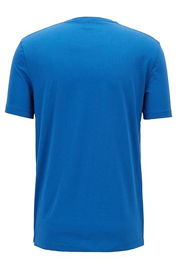 常规版柔软棉质T恤,  474_淡蓝色