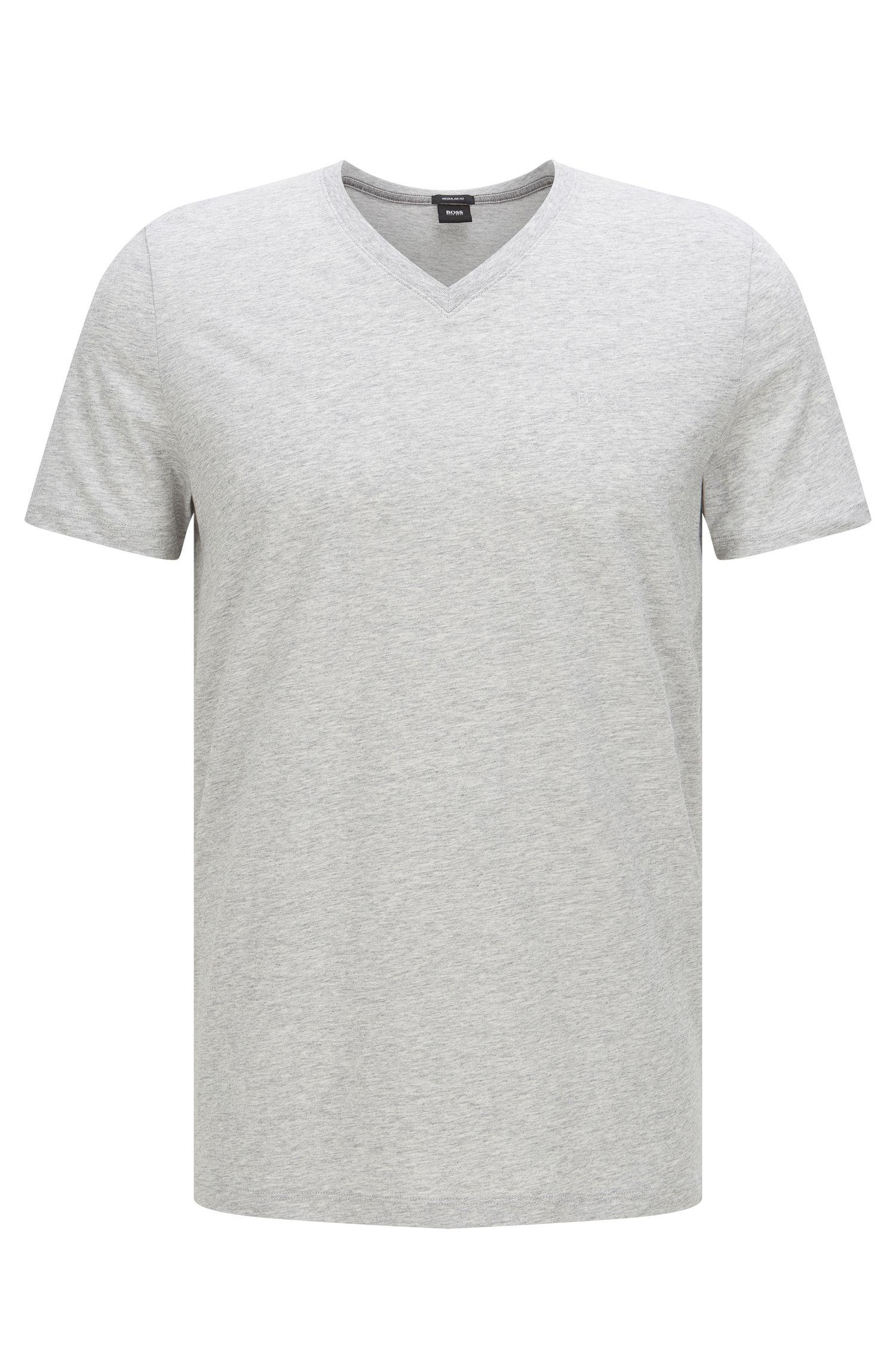 Unifarbenes Regular-Fit T-Shirt aus Baumwolle: 'Tilson 11'