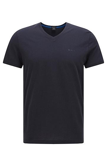 常规版素色纯棉T恤:'Tilson 11',  402_暗蓝色