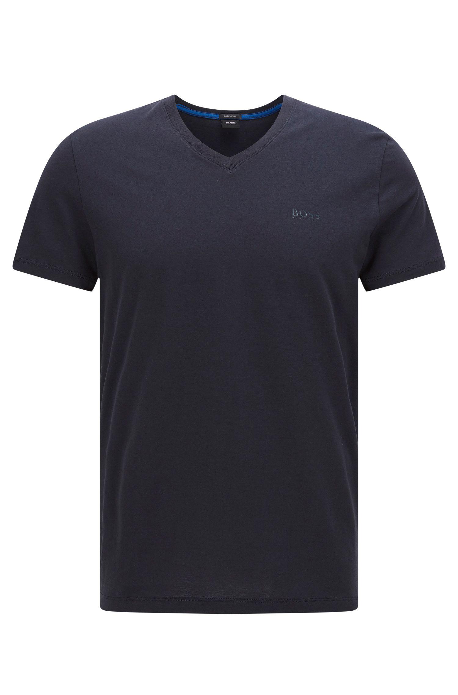 Regular-fit T-shirt in single jersey