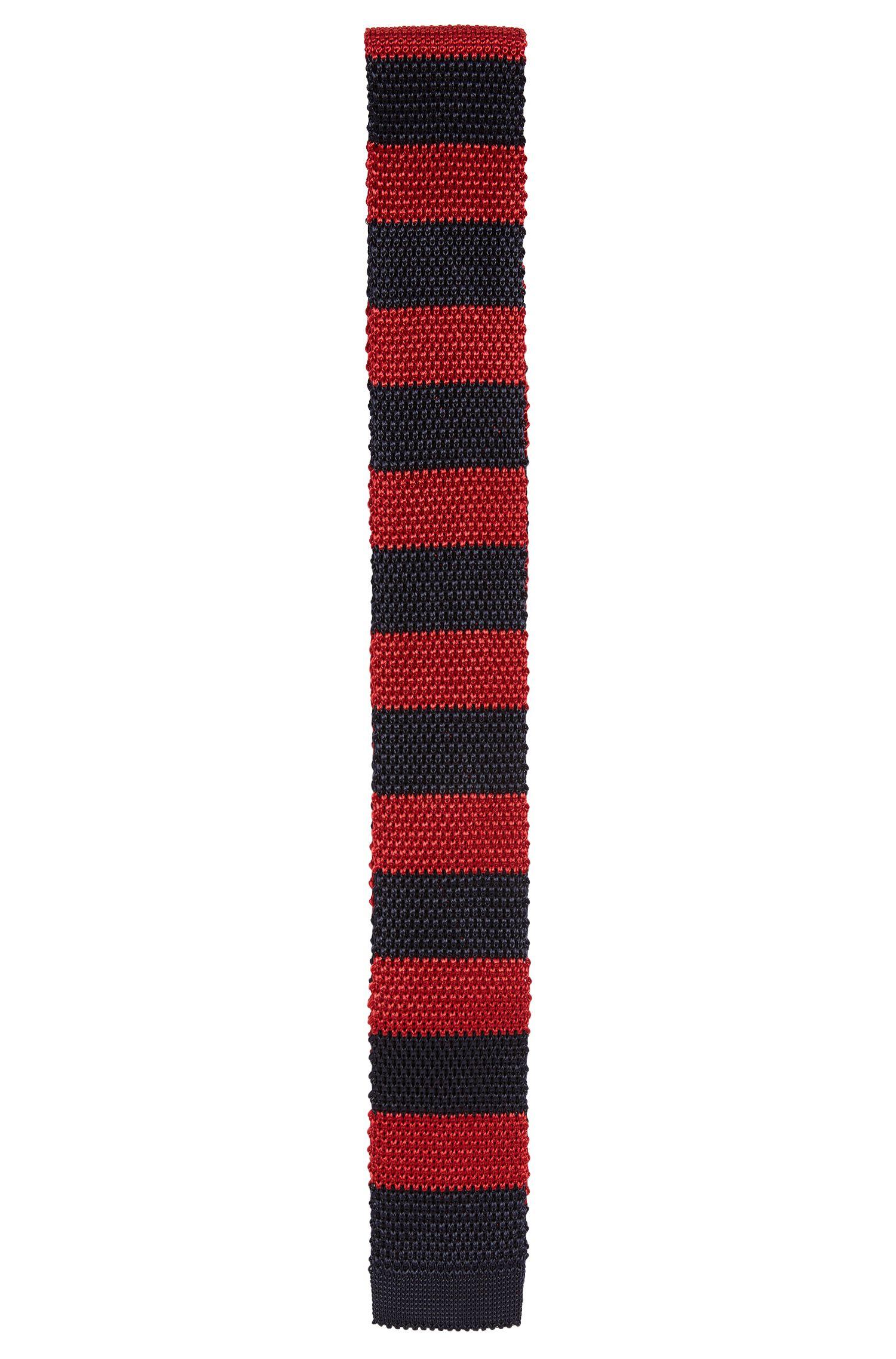 Strickkrawatte aus Viskose: 'Tie 5 cm knitted'