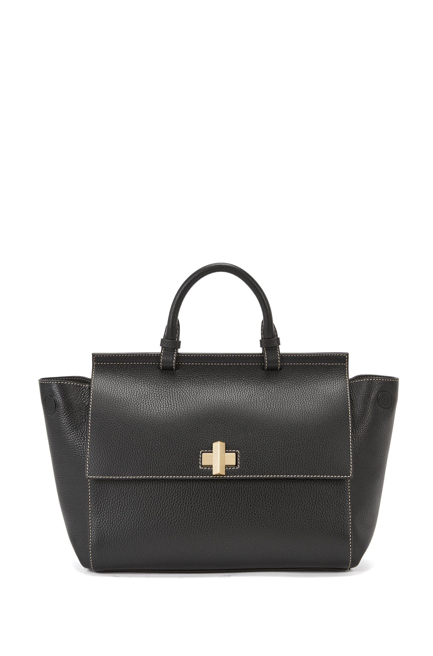 BOSS Bespoke Soft bag with signature cufflink detail