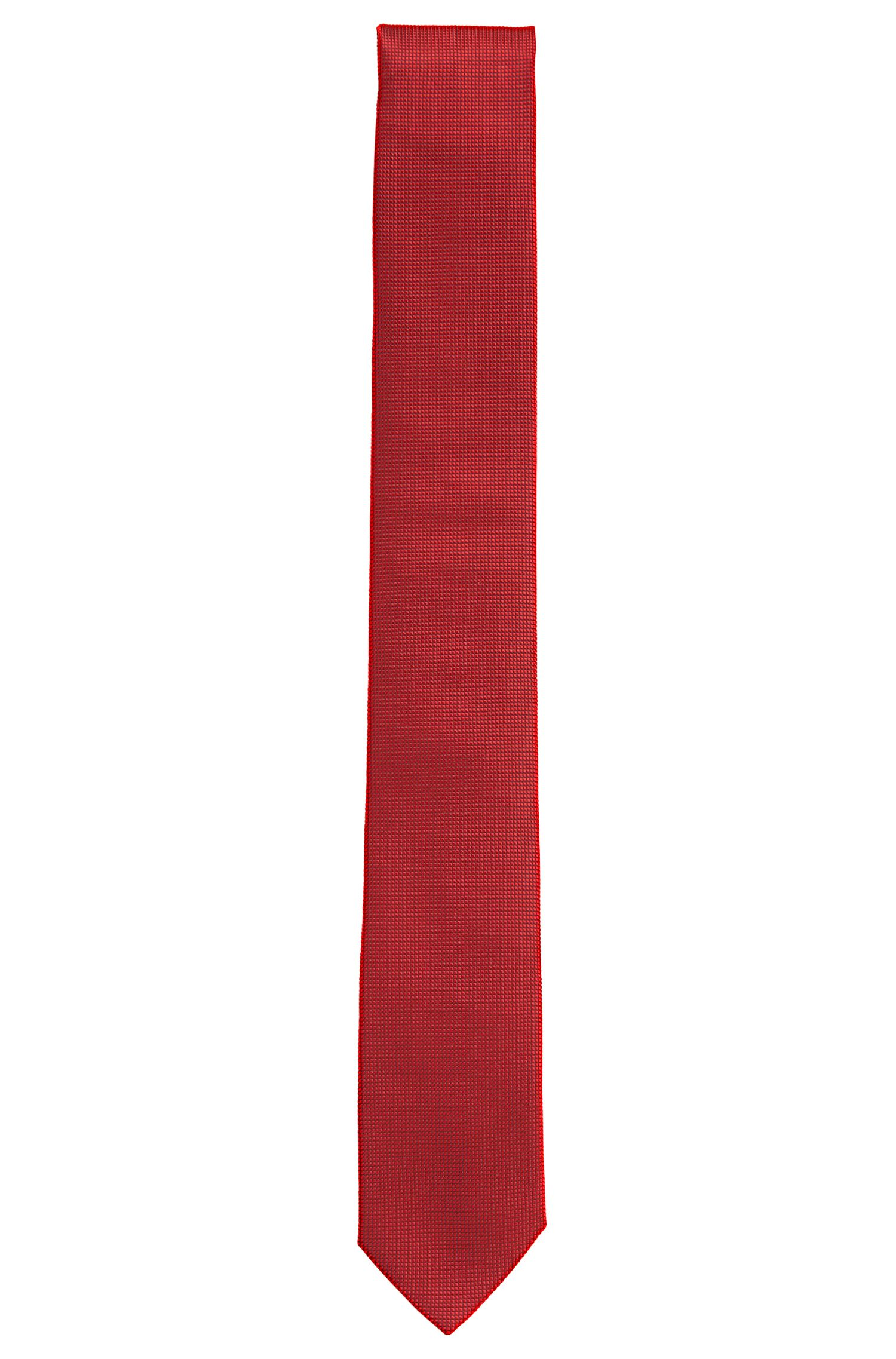 Krawatte aus strukturierter Seide: 'Tie cm 6'