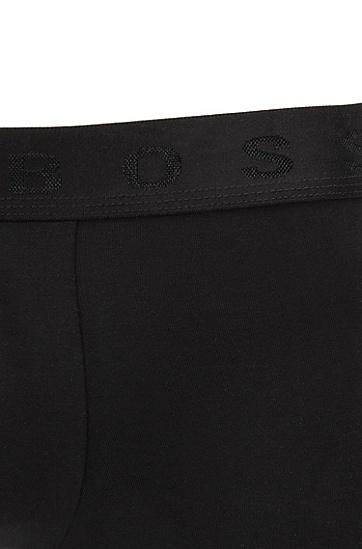 埃及弹力棉运动短裤,  001_黑色