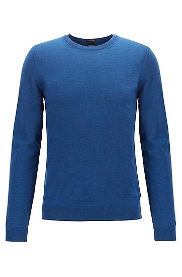 水手领羊毛毛衣,  417_海军蓝色