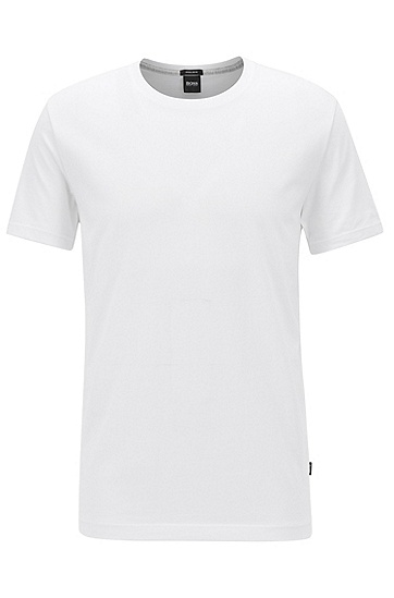 常规版柔软棉T恤,  100_白色