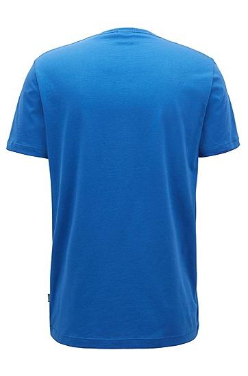 常规版柔软棉T恤,  429_中蓝色
