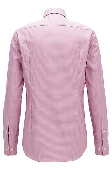 Fresh Active 技术修身版棉衬衫,  654_暗粉色