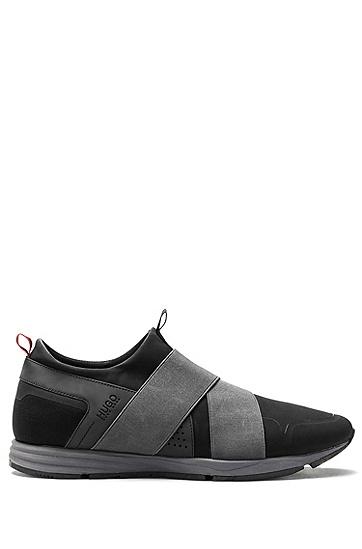绑带运动鞋,  001_黑色