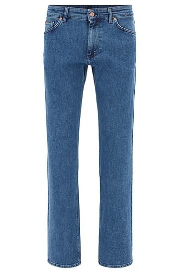 常规版弹力牛仔布舒适牛仔裤,  431_亮蓝色