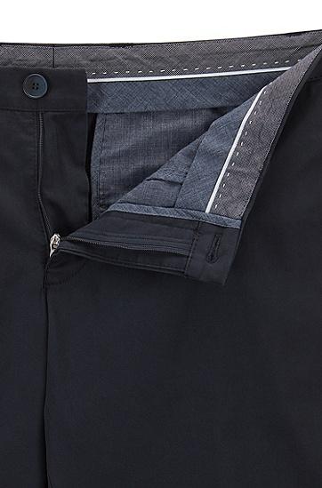 修身版弹力棉斜纹棉布裤,  480_淡蓝色