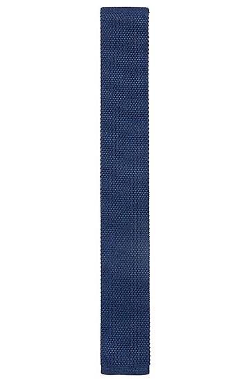 意大利制造针织桑蚕丝直裁领带,  474_淡蓝色