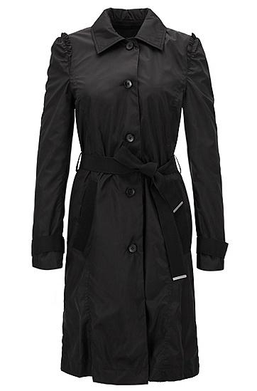 防水科技面料风衣,  001_黑色