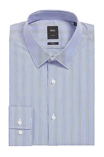 BOSS Tailored系列珍珠母贝纽扣衬衫,  474_淡蓝色