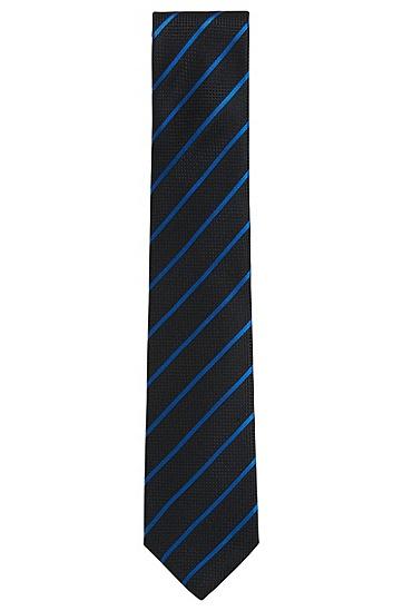 意大利制造桑蚕丝提花斜纹领带,  474_淡蓝色