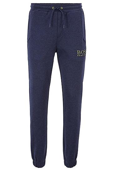 男士运动休闲针织长裤,  414_海军蓝色
