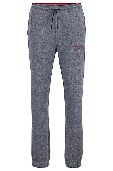 男士运动休闲针织长裤,  415_海军蓝色