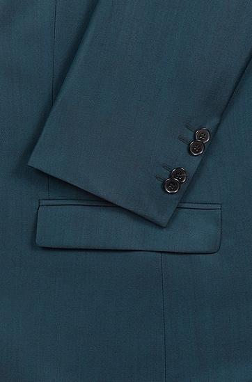 男士商务休闲西服套装,  309_暗绿色