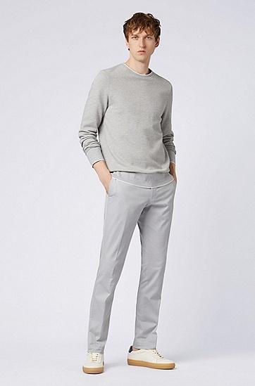 男士休闲舒适毛衣,  072_淡灰色