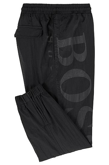 男士休闲棉质舒适长裤,  001_黑色