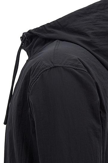 男士休闲棉质连帽卫衣,  001_黑色