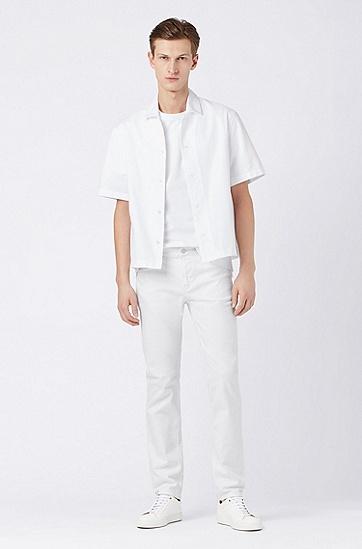 男士时尚休闲T恤,  100_白色