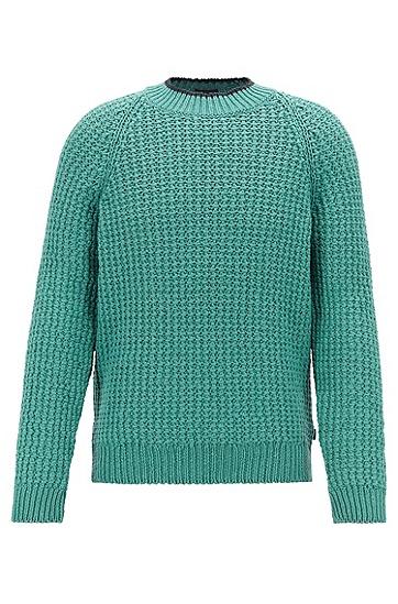 男士时尚休闲针织衫,  351_淡绿色