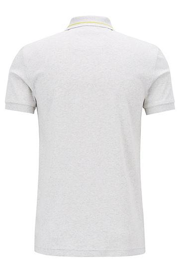 男士休闲商务Polo衫,  057_浅灰色