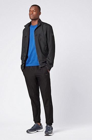 男士时尚LOGO印花短袖T恤,  462_淡蓝色